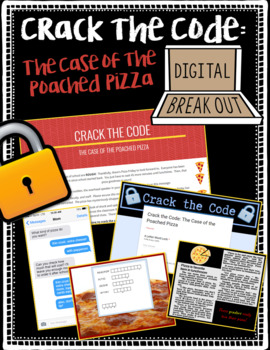 Back to School Digital Crack the Code: Case of the Poached Pizza