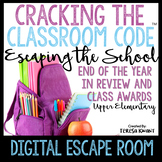 End of the Year Digital Escape Room Class Awards Cracking the Classroom Code®