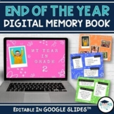 End of the Year Digital Memory Book - Editable Templates f