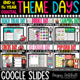 End of the Year Digital Themed Day BUNDLE   Distance Learn