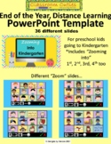 End of the Year Distance Learning Slide Show PowerPoint Template