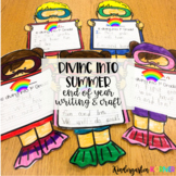 End of the Year Diving into Summer Writing and Craft K 1 Distance Learning