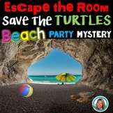 End of the Year ESCAPE ROOM BEACH PARTY K-2nd