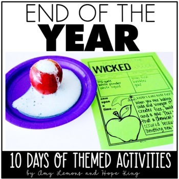 Engagement Made Easy:  End of the Year Activities