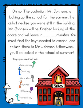 End of the Year Escape Room Awards Lower Elementary Cracking the Classroom Code™