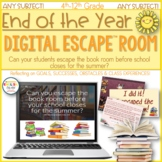 End of the Year Escape Room, Last Week of School Activities