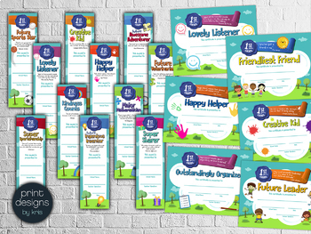 End of the Year FIRST GRADE Student Superlative Awards BUNDLE