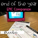 End of the Year FREE Book Companion