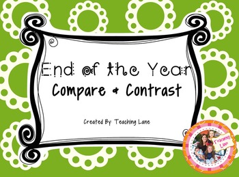 End of the Year - FREEBIE