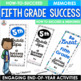 End of the Year Bundle Fifth Grade Brochures