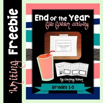 End of the Year File Folder Activity *Freebie* Updated for 2015!