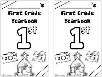 End of the Year First Grade Memory Book / Suitcase {& CRAFTIVITY}