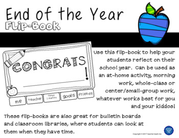 End of the Year –  Flip-Book
