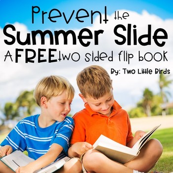 End of the Year-Summer Slide Flip Book for Parents