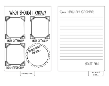 End of the Year Flip Flap Book (Survival Guide for Upcoming Kiddos!)