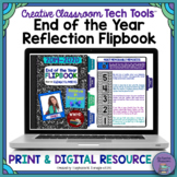 End of the Year Flipbook: Reflection Activity