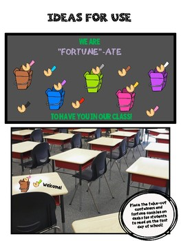 End of the Year Fortune Cookie Activity