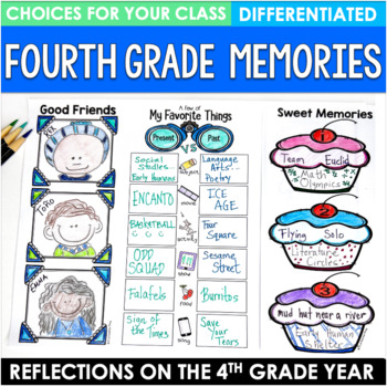 End of the Year Bundle Fourth Grade Brochures