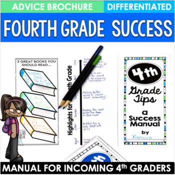 End of the Year Activity Bundle Fourth Grade Brochures