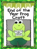 "End of the Year Frog (This year has been ""Toad""ally awesome)"