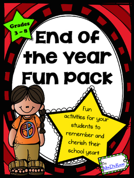 End of the Year Fun Pack