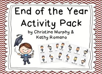 End of the Year Fun Stuff Activity Pack