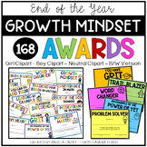 Distance Learning 168 End of the Year GROWTH MINDSET Award