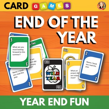 End of the Year Game Activity