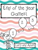 End of the Year Games
