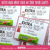 End of the Year Gift Extra Gum FREEBIE