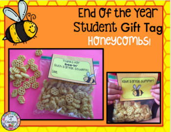 End of the Year Gift Tag