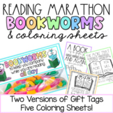 Reading Marathon & End of the Year Gift Tag Treat! Bookwor