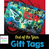 End of the Year Gift Tag -*EDITABLE*