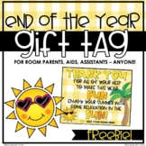End of the Year Gift Tag | FREEBIE