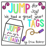 End of the Year Gift Tag: Jump for Joy