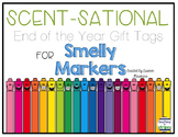 End of the Year Gift Tag for Scented Markers