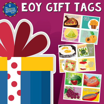 End of the Year Gift Tags