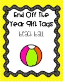End of the Year Gift Tags - Ball