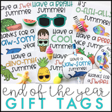 End of the Year Gift Tags Bundle