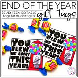 End of the Year Gift Tags   EDITABLE End of the Year Gift Tags