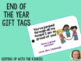 End of the Year Gift Tags - Jump Ropes