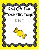 End of the Year Gift Tags - Pieces