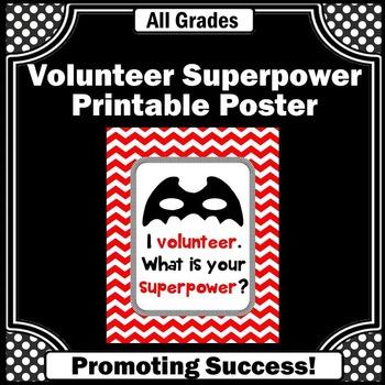 Parent Volunteer Thank You Gift, Volunteer Appreciation Gift, Printable Poster