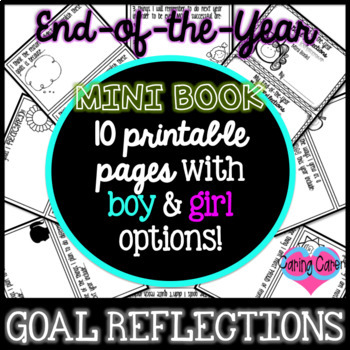 End-of-the-Year Goal Reflections Mini Book!
