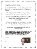 End of the Year Goodbye Letter to Parents from Teacher