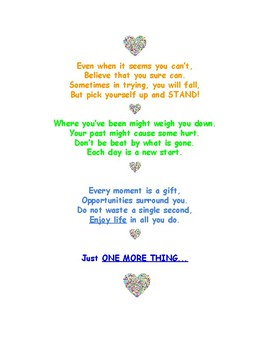 End of the Year Goodbye Poem to inspire your students