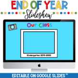 End of the Year Google Slide Show Distance Learning