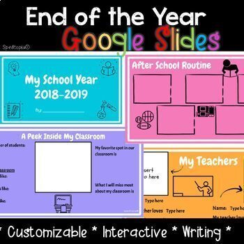 End of the Year Google Slides