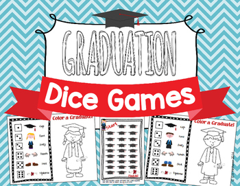 End of the Year Graduation Dice Games