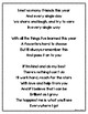 Kindergarten End of the Year Graduation Poem and Labels